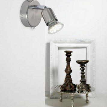 Avenue Lampa nowoczesna – Do czytania – kolor srebrny