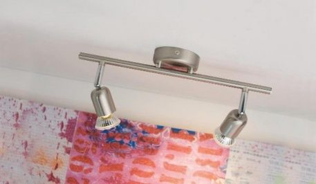Avenue  Lampa sufitowa – Styl nowoczesny – kolor srebrny