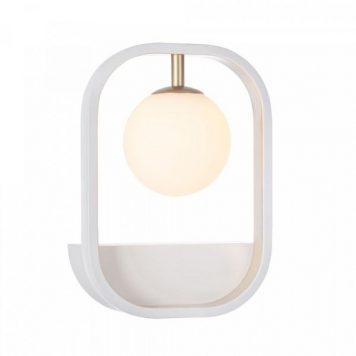 Avola  Lampa nowoczesna – Styl nowoczesny – kolor biały, złoty