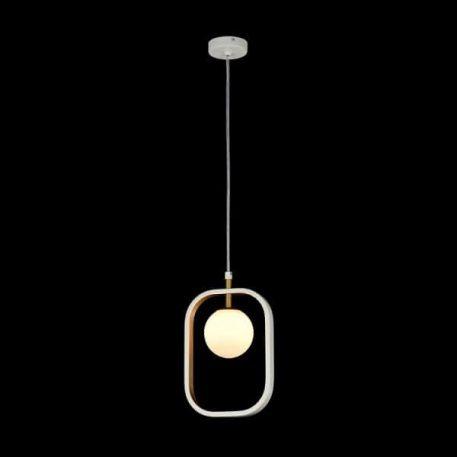 Avola  Lampa wisząca – Styl nowoczesny – kolor biały, złoty