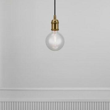 Avra Lampa wisząca – Styl nowoczesny – kolor mosiądz