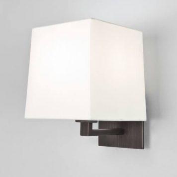 Azumi Lampa modern classic – Z abażurem – kolor brązowy