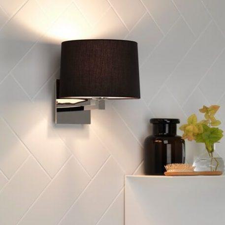 Azumi Lampa modern classic – Z abażurem – kolor połysk, srebrny