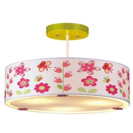 Bajka Lampa sufitowa – Styl nowoczesny – kolor biały, różowy
