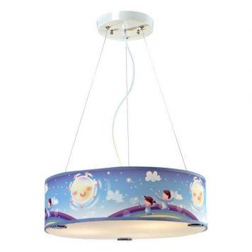 Bajka Lampa wisząca – Styl nowoczesny – kolor Niebieski