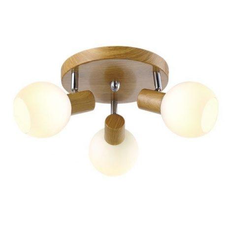 Baleo Lampa sufitowa – Styl skandynawski – kolor brązowy