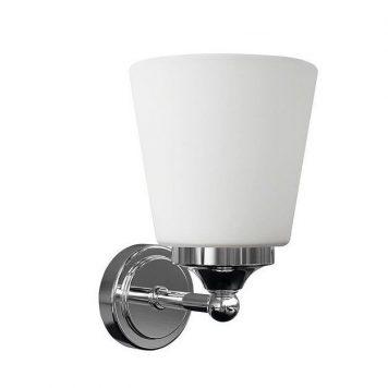 Bali  Lampa klasyczna – szklane – kolor biały, srebrny