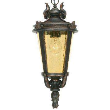 Baltimore Lampa zewnętrzna – szklane – kolor brązowy