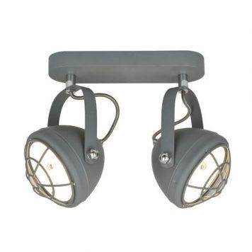 Balve Lampa industrialna – Reflektory – kolor Szary