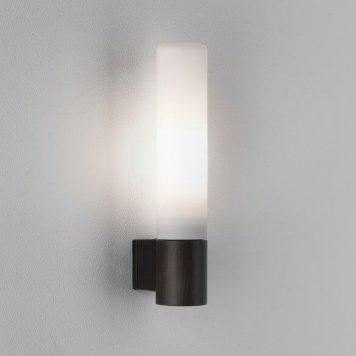 Bari Lampa nowoczesna – szklane – kolor biały, brązowy