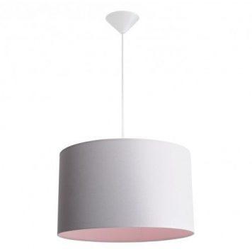 Barilla  Lampa wisząca – Styl nowoczesny – kolor różowy, Szary