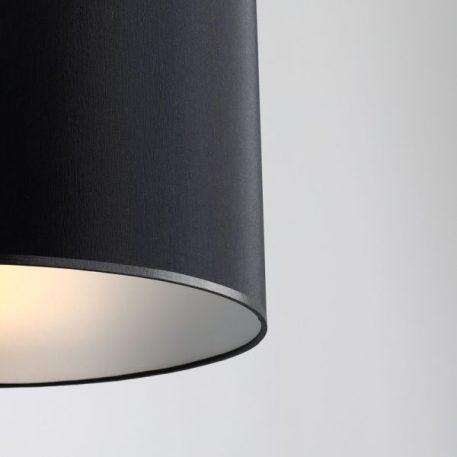 Barilla  Lampa wisząca – Z abażurem – kolor srebrny, Czarny