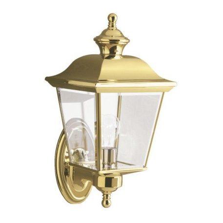 Bay Shore Lampa zewnętrzna – klasyczny – kolor mosiądz, transparentny, złoty
