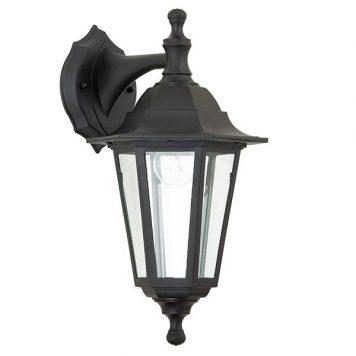 Bayswater  Lampa zewnętrzna – szklane – kolor transparentny, Czarny
