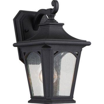 Bedford  Lampa zewnętrzna – klasyczny – kolor transparentny, Czarny