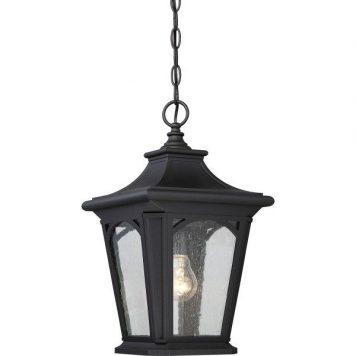 Bedford  Lampa zewnętrzna – szklane – kolor transparentny, Czarny