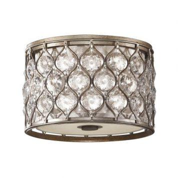 Bella Plafon – kryształowe – kolor srebrny