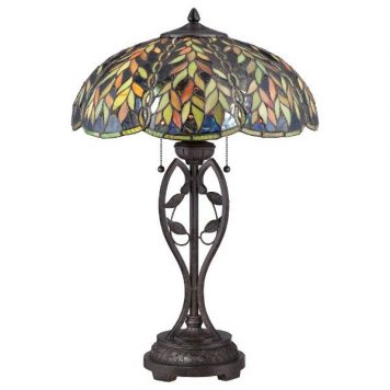 Belle Elstead Lampa klasyczna – klasyczny – kolor brązowy