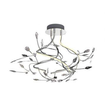 Belle Lampa nowoczesna – Lampy i oświetlenie LED – kolor srebrny