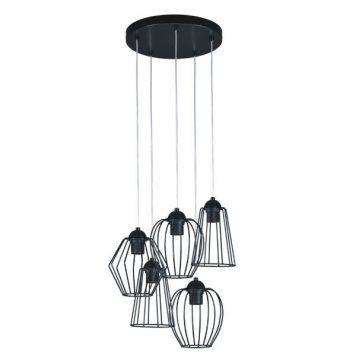 Belt  Lampa wisząca – Styl skandynawski – kolor Czarny