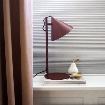 Benjamin Lampa skandynawska – Styl nowoczesny – kolor Czerwony