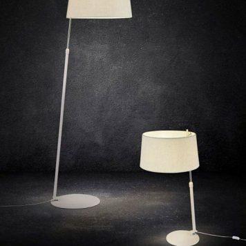 Bergamo Lampa nowoczesna – Styl nowoczesny – kolor biały