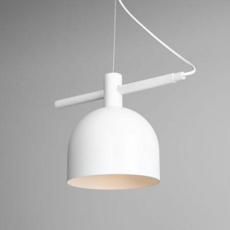 Beryl  Lampa wisząca – Styl skandynawski – kolor biały
