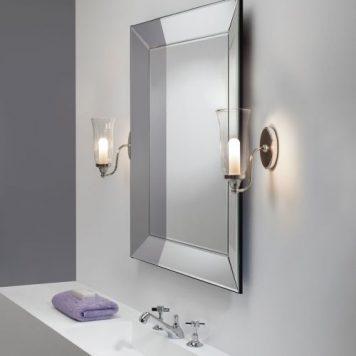 Biaritz Lampa klasyczna – szklane – kolor srebrny, transparentny