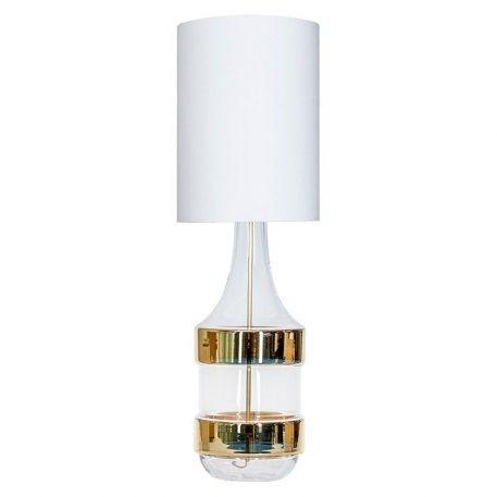 Biaritz  Lampa nowoczesna – szklane – kolor biały, transparentny, złoty