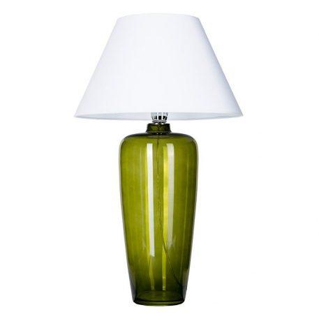 Bilbao  Lampa stołowa – szklane – kolor biały, Zielony