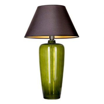 Bilbao  Lampa stołowa – Z abażurem – kolor Czarny, Zielony