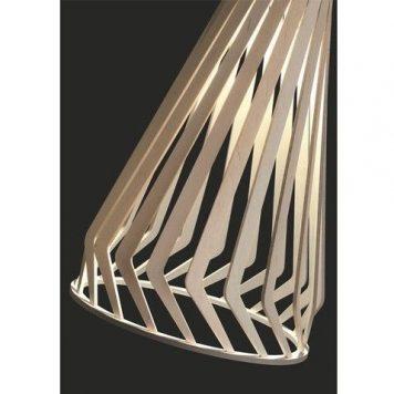 Bio  Lampa wisząca – Drewniane – kolor brązowy
