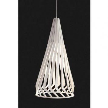 Bio  Lampa wisząca – Styl skandynawski – kolor biały