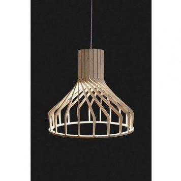 Bio  Lampa wisząca – Styl skandynawski – kolor brązowy
