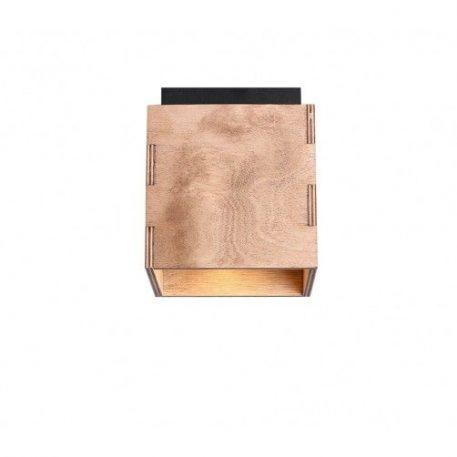 Bit  Lampa skandynawska – Drewniane – kolor brązowy