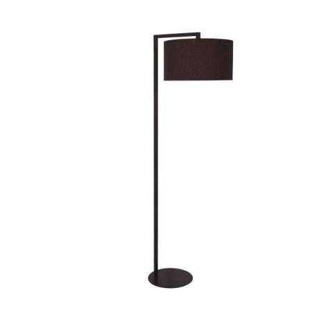 Black  Lampa podłogowa – Z abażurem – kolor Czarny