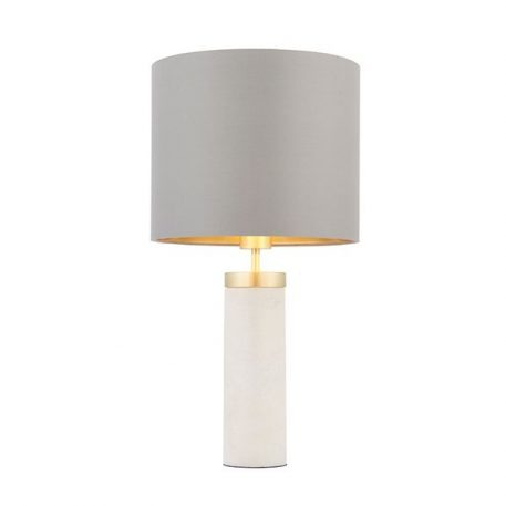 Blanca Lampa nowoczesna – Z abażurem – kolor biały