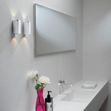 Block Lampa nowoczesna – Lampy i oświetlenie LED – kolor srebrny