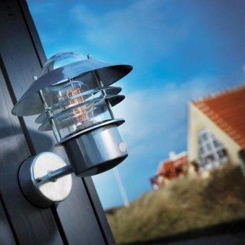 Blokhus  Lampa zewnętrzna – Styl nowoczesny – kolor srebrny
