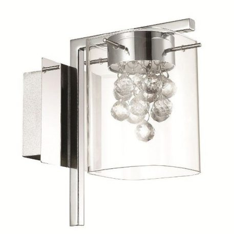 Blue Sky Lampa glamour – Styl glamour – kolor srebrny, transparentny
