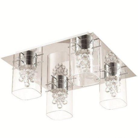 Blue Sky Lampa nowoczesna – Styl glamour – kolor srebrny, transparentny