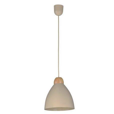 Borgo  Lampa wisząca – Drewniane – kolor beżowy