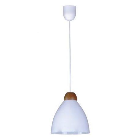 Borgo  Lampa wisząca – Drewniane – kolor biały