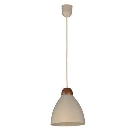 Borgo Lampa wisząca – Styl skandynawski – kolor beżowy, brązowy