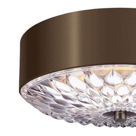 Botanic  Plafon – Styl glamour – kolor brązowy