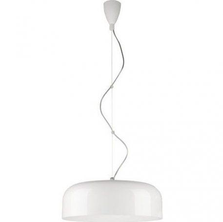 Bowl Lampa wisząca – Styl skandynawski – kolor biały