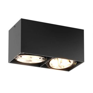 Box CL Lampa sufitowa – Styl nowoczesny – kolor Czarny