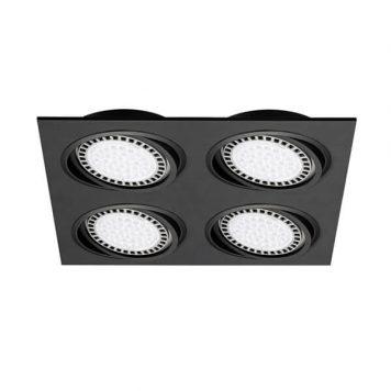 Boxy Lampa sufitowa – Oczka sufitowe – kolor Czarny