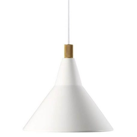 Brassy Lampa wisząca – Styl skandynawski – kolor biały