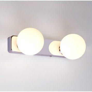 Brazos  Lampa nowoczesna – Styl nowoczesny – kolor biały, srebrny